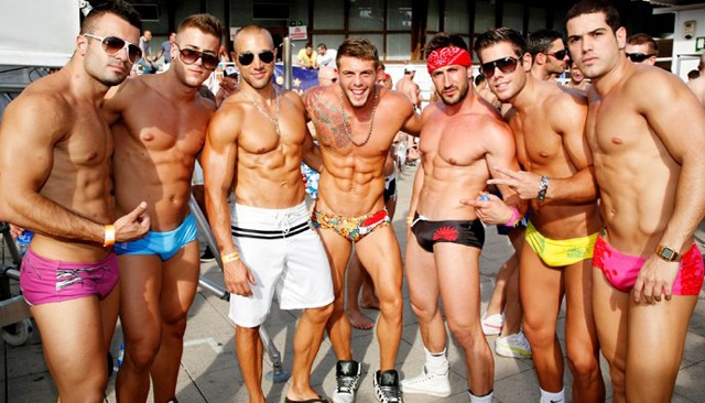 They're hot plus they can wash your clothes on their abs!