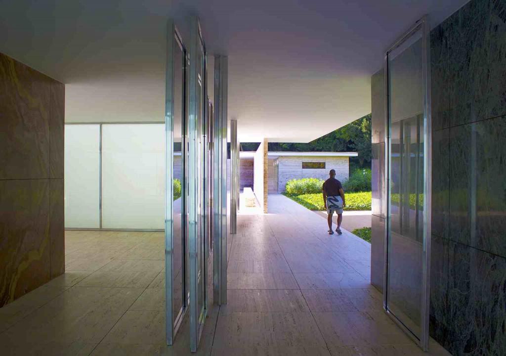 Scott Holman, Barcelona Mies van der Rohe Pavilion