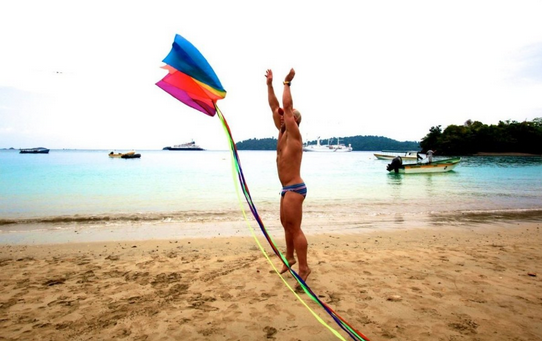 Let your gay freak flag fly! Photo courtesy Source Events.