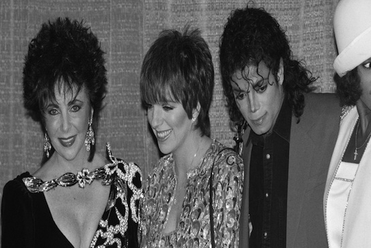 1988- Elizabeth Taylor and Liza Minnelli attended a benefit at the Sheraton Centre honoring Michael Jackson