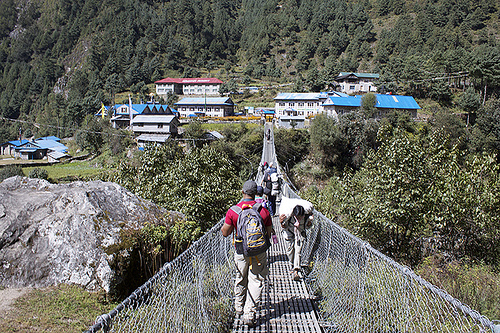 Suspension Bridge, Mt. Everest Base Camp Trek