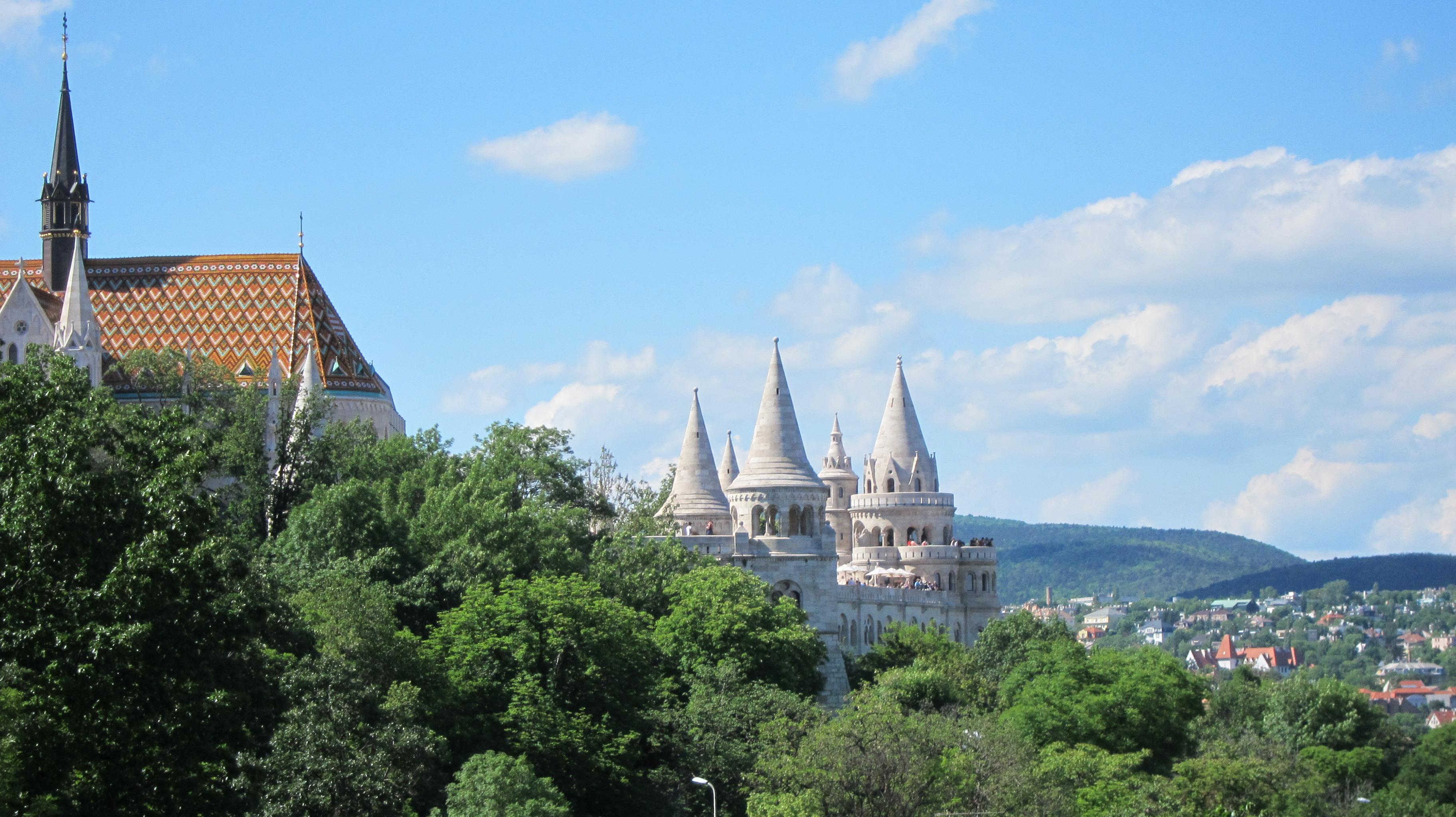 Matthias Church and Hilton Budapest