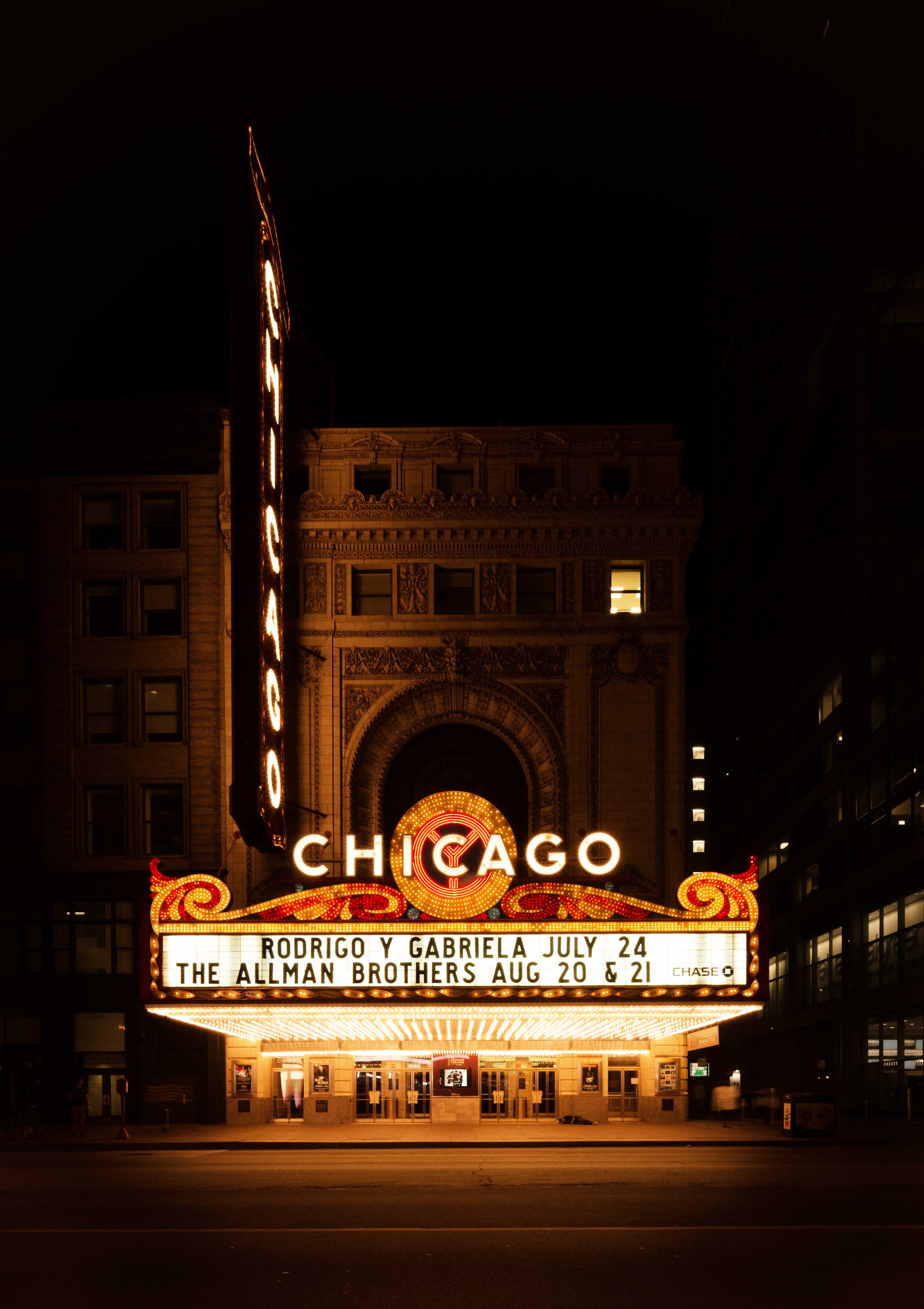 Chicago Theater Facade