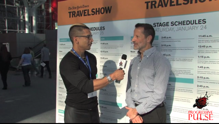 Steve Rodriguez and Ed Salvato as seen at the New York Times Travel Show