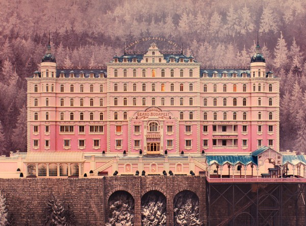 Movie poster for The Grand Budapest Hotel