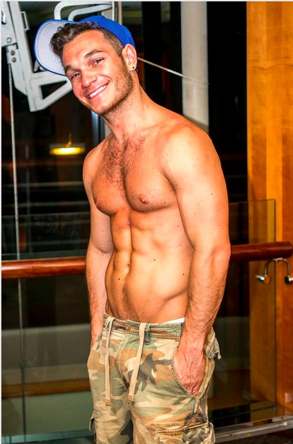 Atlantis cruise passenger as seen in ManABoutWorld gay travel magazine