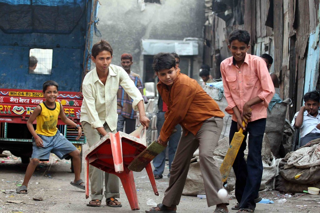 Dharavi cricket photo