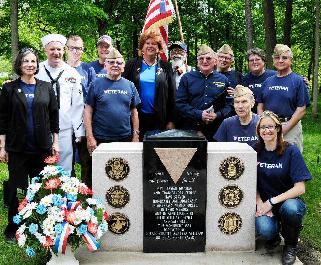 LGBT veteran monument as seen in ManAboutWorld gay travel magazine