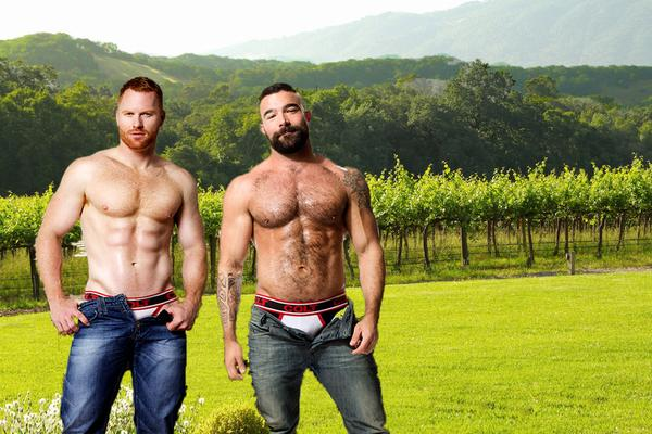 Gay Wine Weekend hunks
