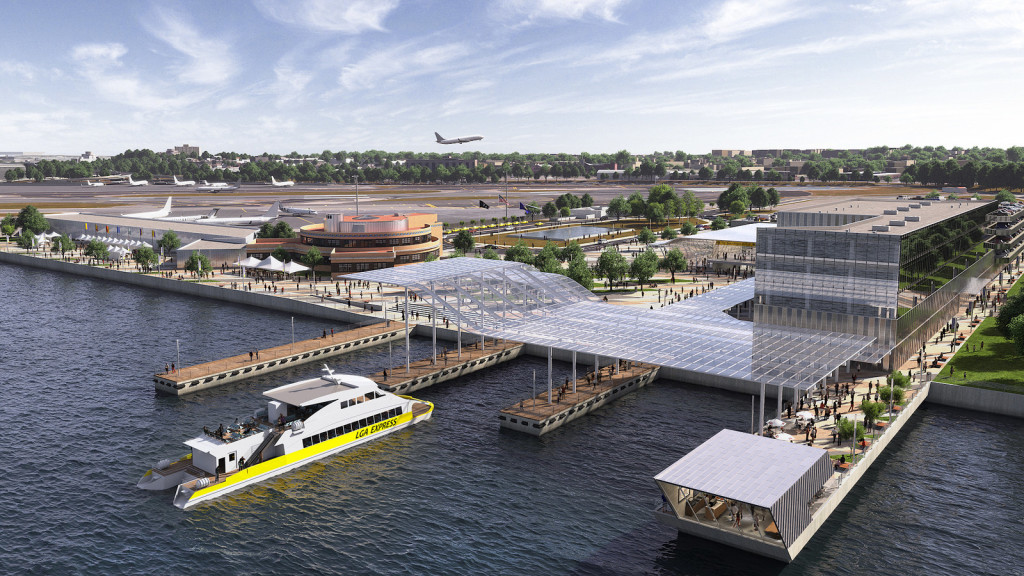 La Guardia Airport redesigned, ManAboutWorld gay travel magazine