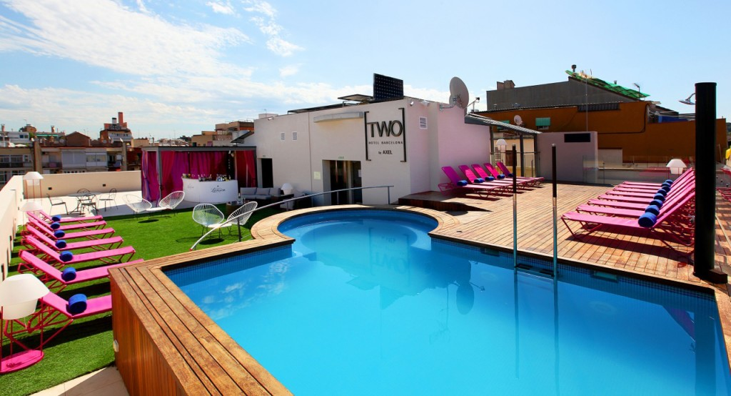 The TWO HOTEL Barcelona in ManAboutWorld gay travel magazine