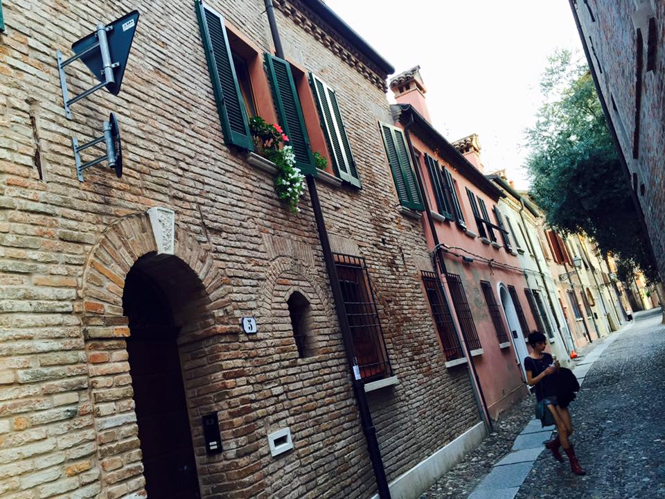 A beautiful street in Bologna, Italy, ManAboutWorld gay travel magazine
