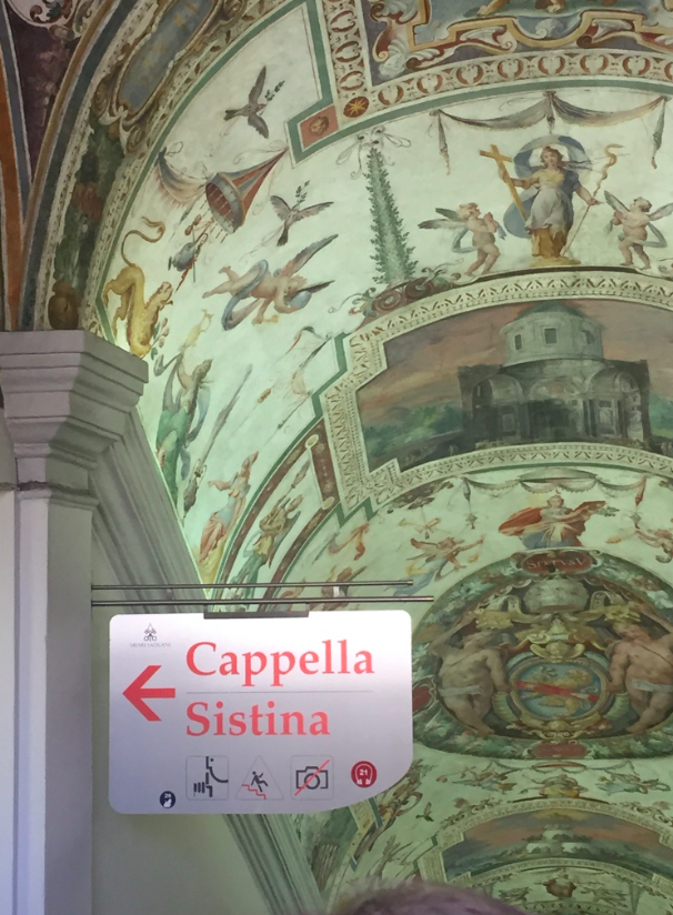 Entrance to the Sistine Chapel at the Vatican, the Pope's U.S. visit, ManAboutWorld gay travel magazine