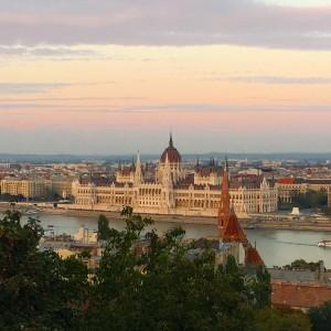 Budapest skyline, ManAboutWorld gay travel magazine
