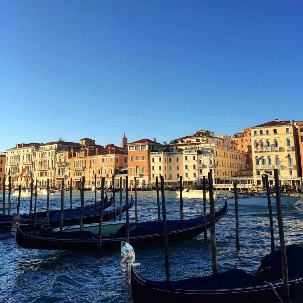 The Grand Canal in Venice and in ManAboutWorld gay travel magazine