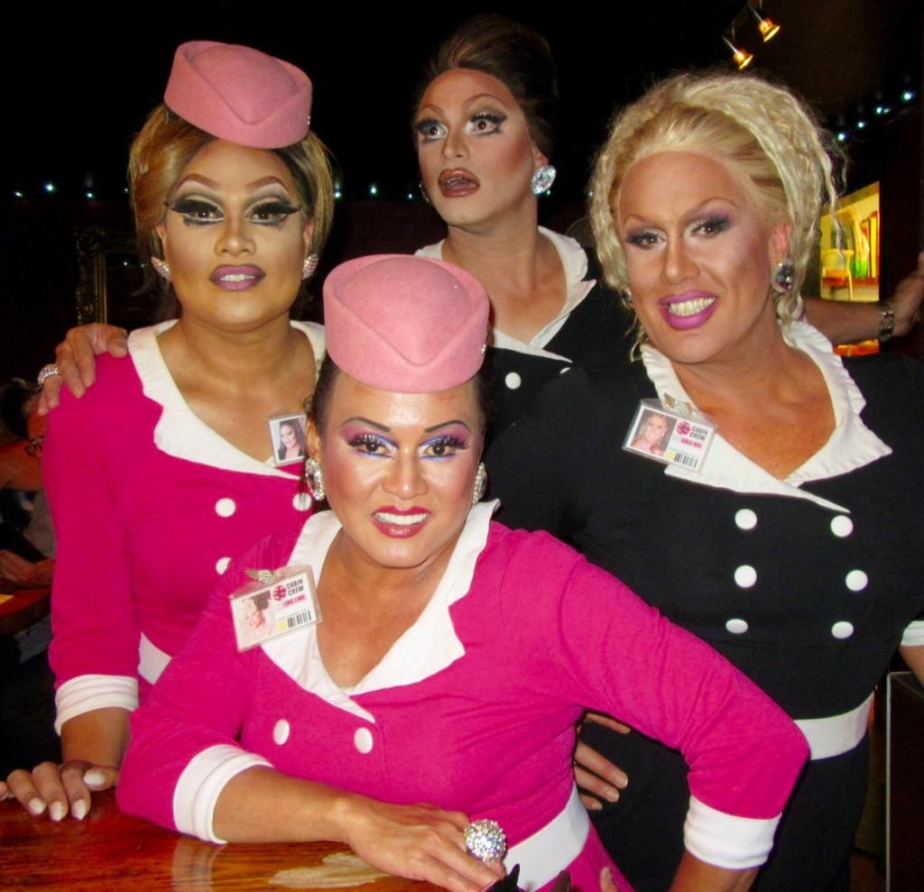 Caluzzi Bar-Downunder: Australia and New Zealand by John Walker correspondent for ManAboutWorld gay trabvel magazine