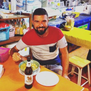 Sergio in the Land of Smiles, Thailand and in ManAboutWorld gay travel magazine
