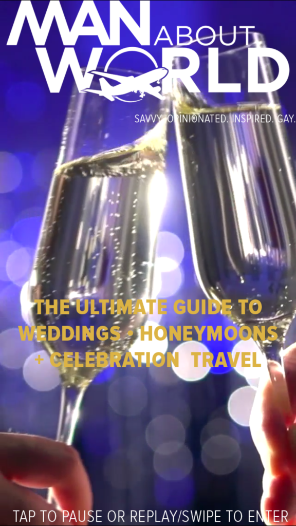 Cover of our Guide to Honeymoon, Weddings and Celebration Travel