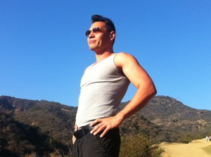 Brian Garrido in ManAboutWorld gay travel magazine