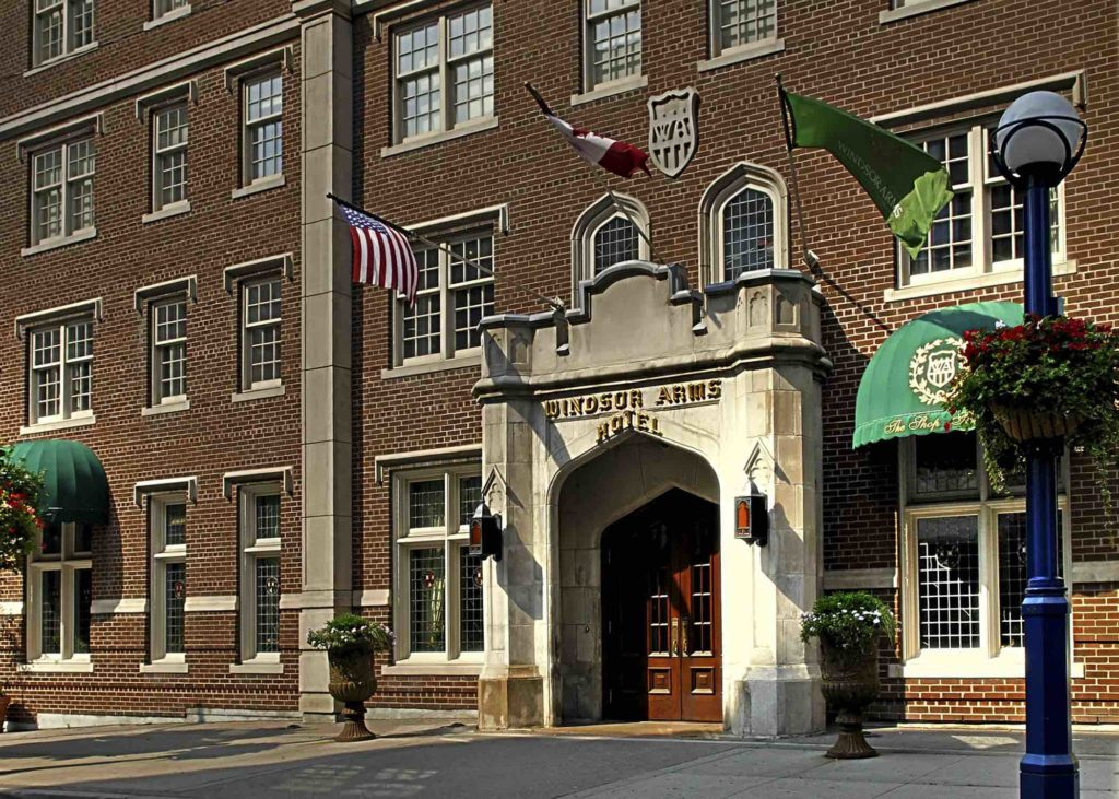 Windsor Arms Hotel for Toronto Gay Pride, ManAboutWorld gay travel magazine