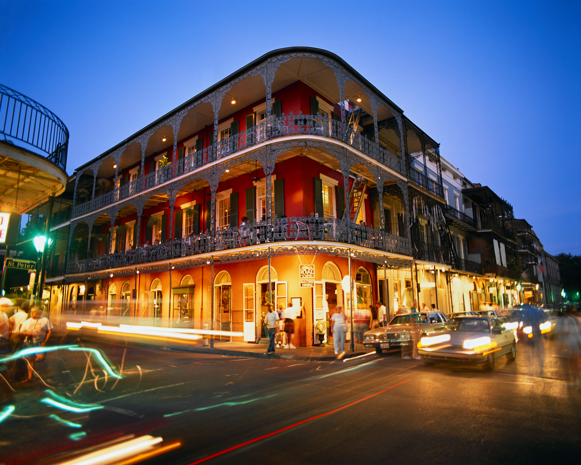 Bourbon Street, New Orleans, ManAboutWorld gay travel guide