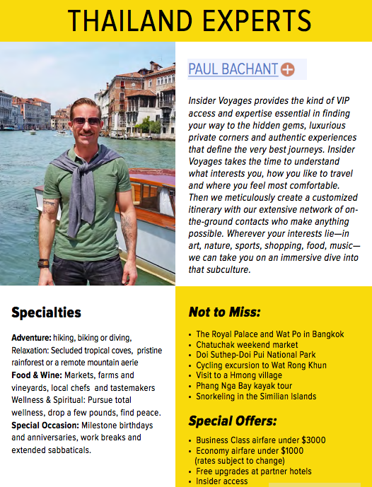Paul Bachant, ManAboutWorld gay Thailand travel expert