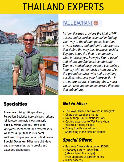 Paul Bachant, ManAboutWorld gay Thailand travel expert