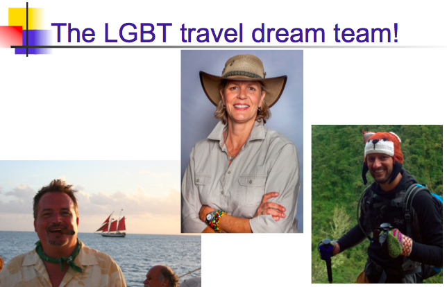 Meet LGBT travel experts at the Dallas Travel & Adventure Show, April 1-2