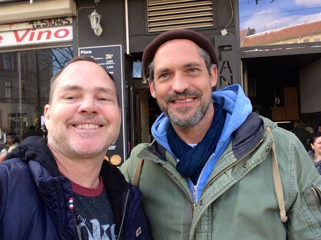 Bike tour in Berlin with Dennis Hensley for ManAboutWorld gay travel magazine
