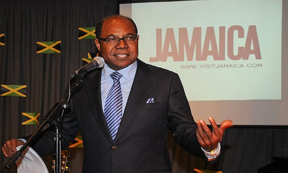 Interview with Jamaica's tourism minister in ManAboutWorld gay travel magazine