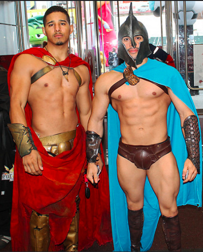 LGBTQ Halloween in New York and in ManAboutWorld gay travel magazine