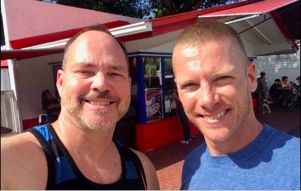Dennis Hensley Key West update on a podcast and in ManAboutWorld gay travel magazine