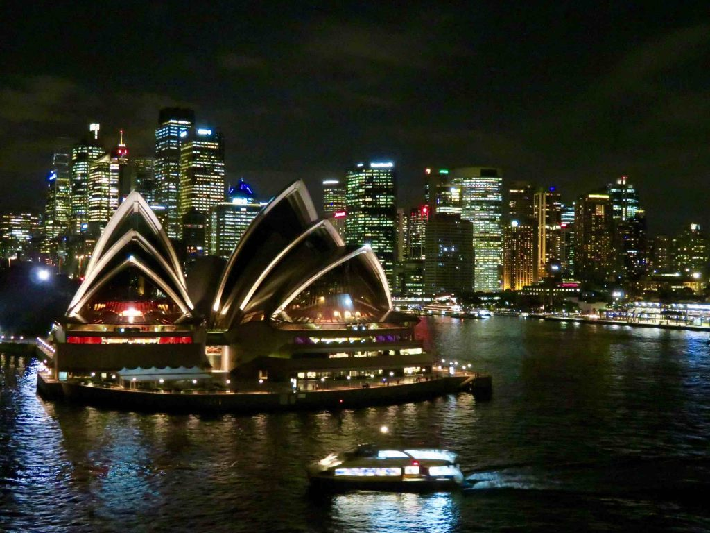 Sydney Harbor in ManAboutWorld gay travel magazine