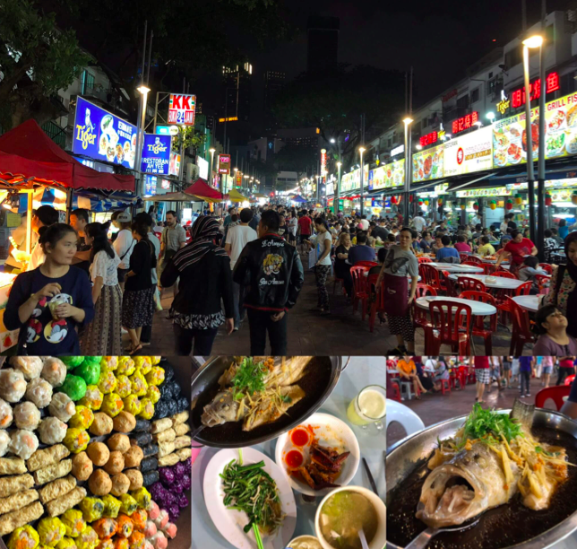 Some of the many delectable food items on offer in Kuala Lumpur via ManAboutWorld global correspondent Barry How