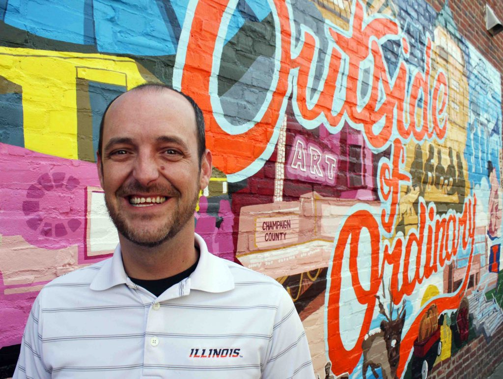 Josh Laskowski, Champaign-Urbana, Illinois in ManAboutWorld gay travel magazine