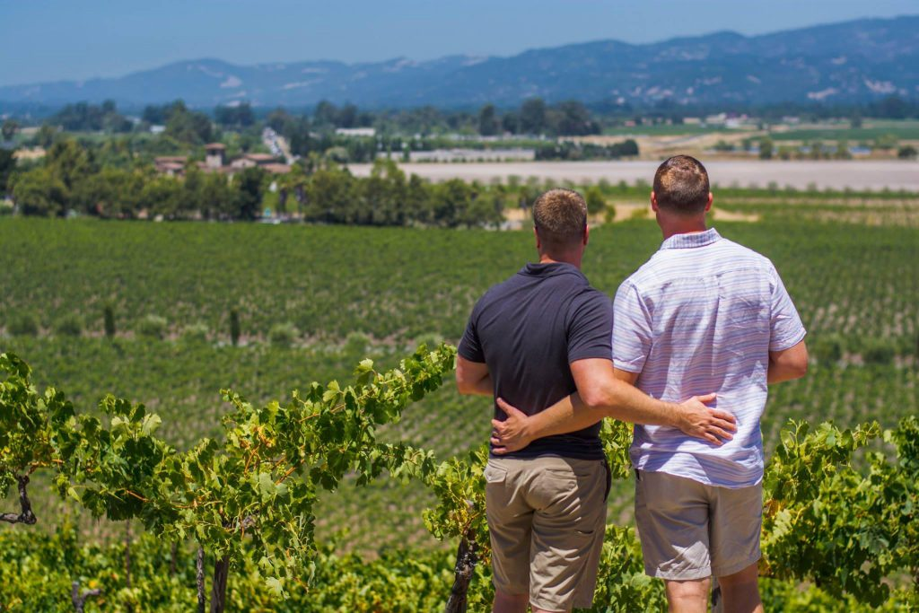 Gay wine weekend Sonomoa 2019 and in ManAboutWorld gay travel magazine