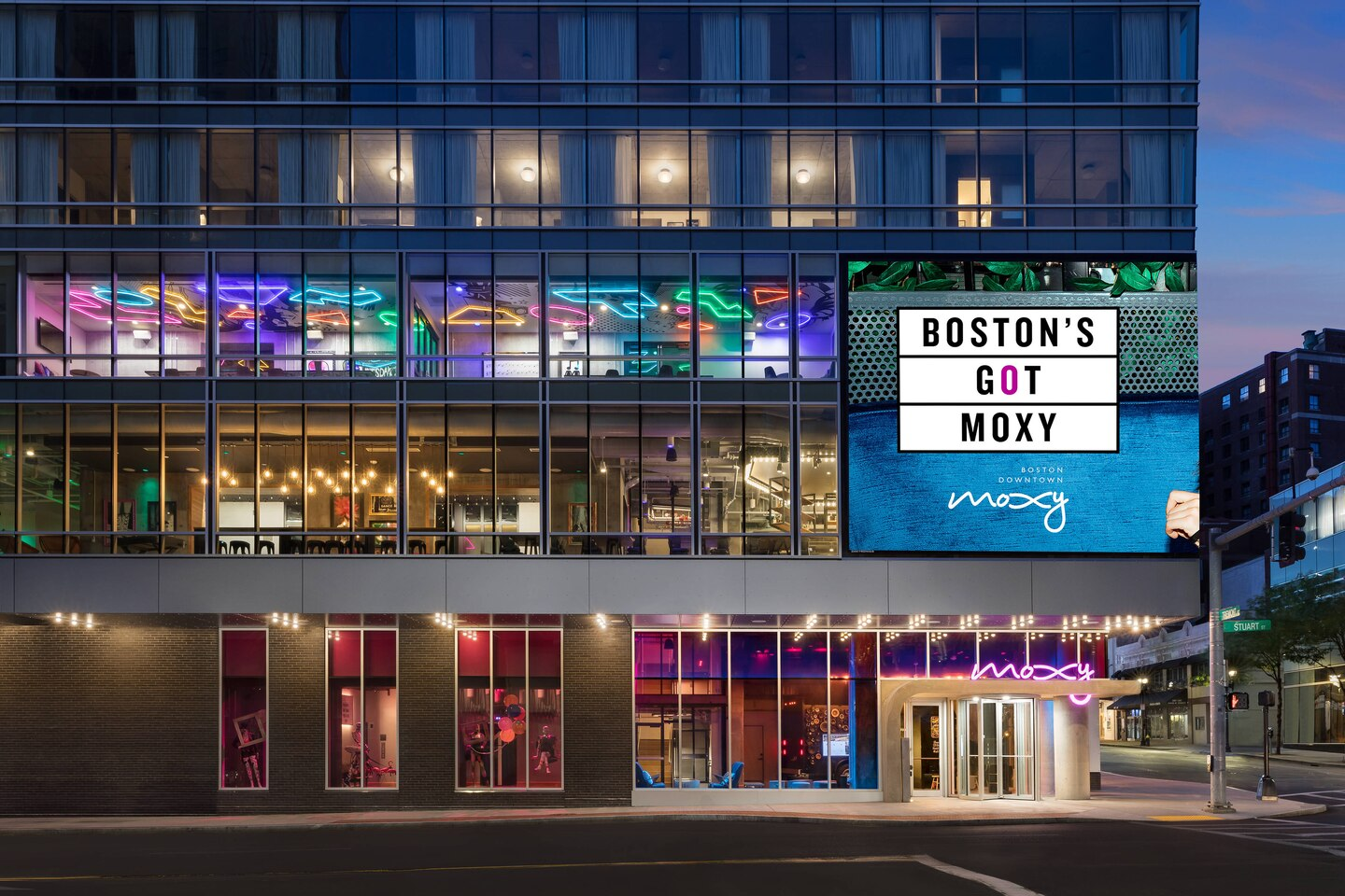 Moxy Boston Downtown in ManAboutWorld gay travel magazine