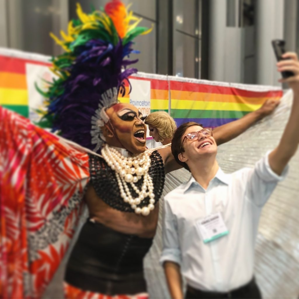 LGBTQ Pavilion at the New York Times Travel Show Jan 24-26